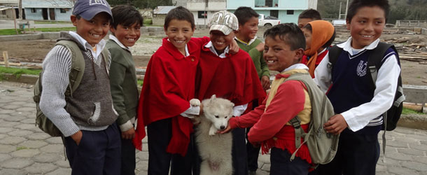 Sustainable community development project in Ecuador for volunteers working in agriculture and education