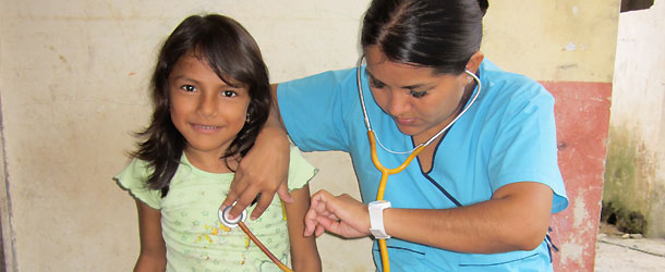 A clinic in the amazon region is a volunteer site for medical students and nurses