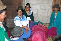 Alternative health and conventional medicine for medical volunteers in the town of Otavalo